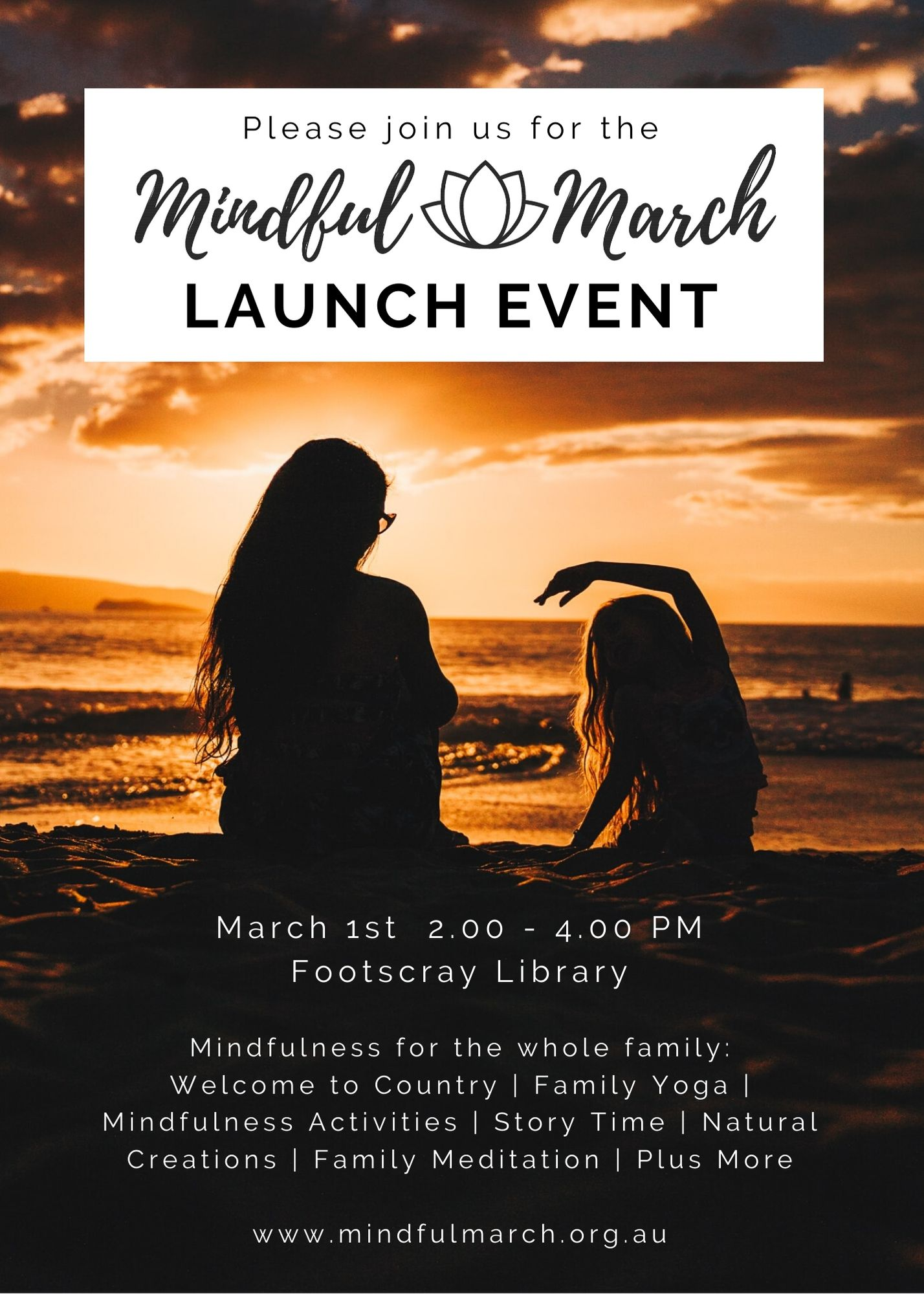 Mindful March LE Invitation